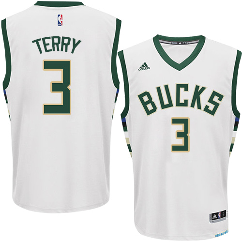 Mens Adidas Milwaukee Bucks 3 Jason Terry Authentic White Home NBA Jersey 4cecdc070
